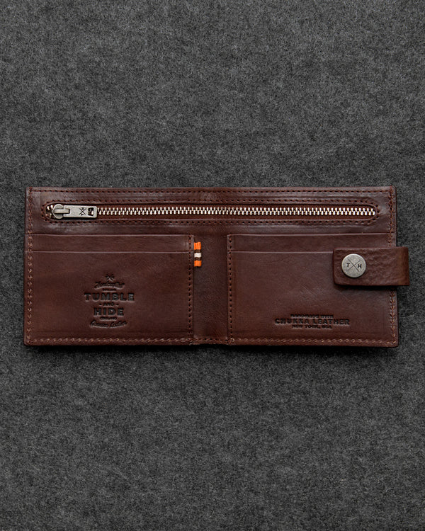 Brown Chukka Leather Classic Wallet a