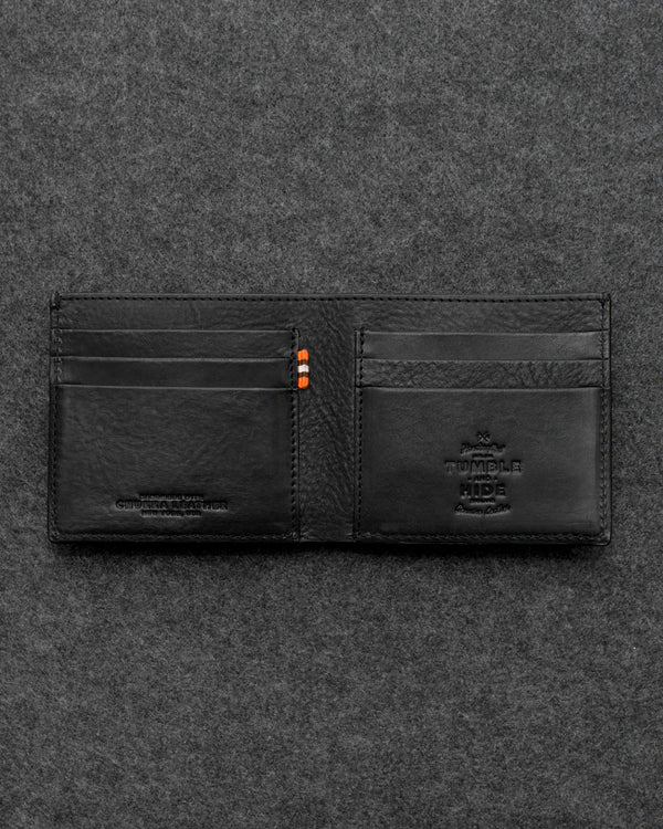 Black Chukka Leather East West Wallet a