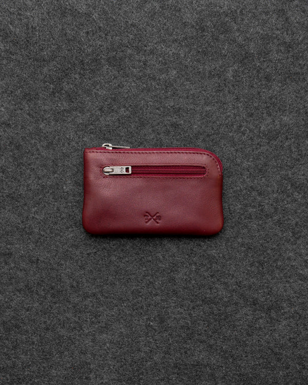 Oxblood Newton Leather Classic Keycase a
