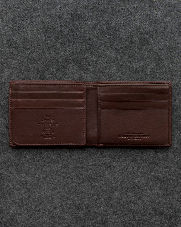 Brown Newton Leather Journey Wallet a