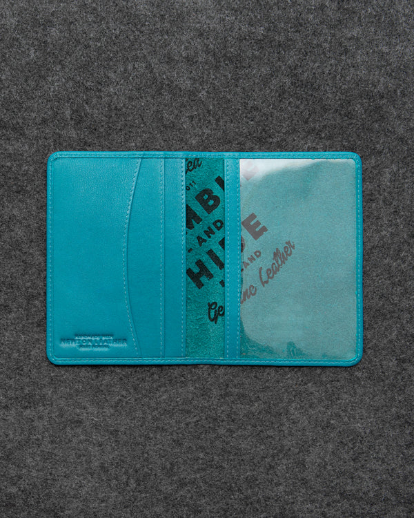 Scuba Newton Leather Passport Holder a
