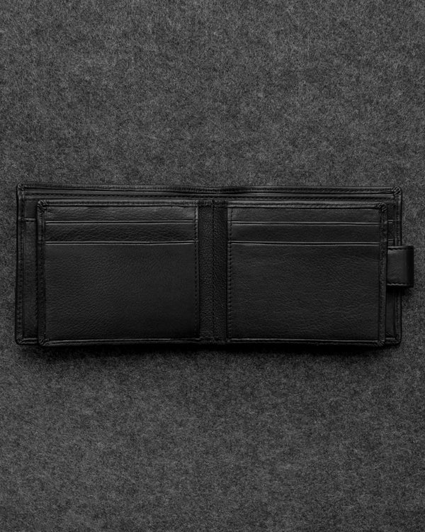 Black Newton Leather Ultimate Card Wallet a