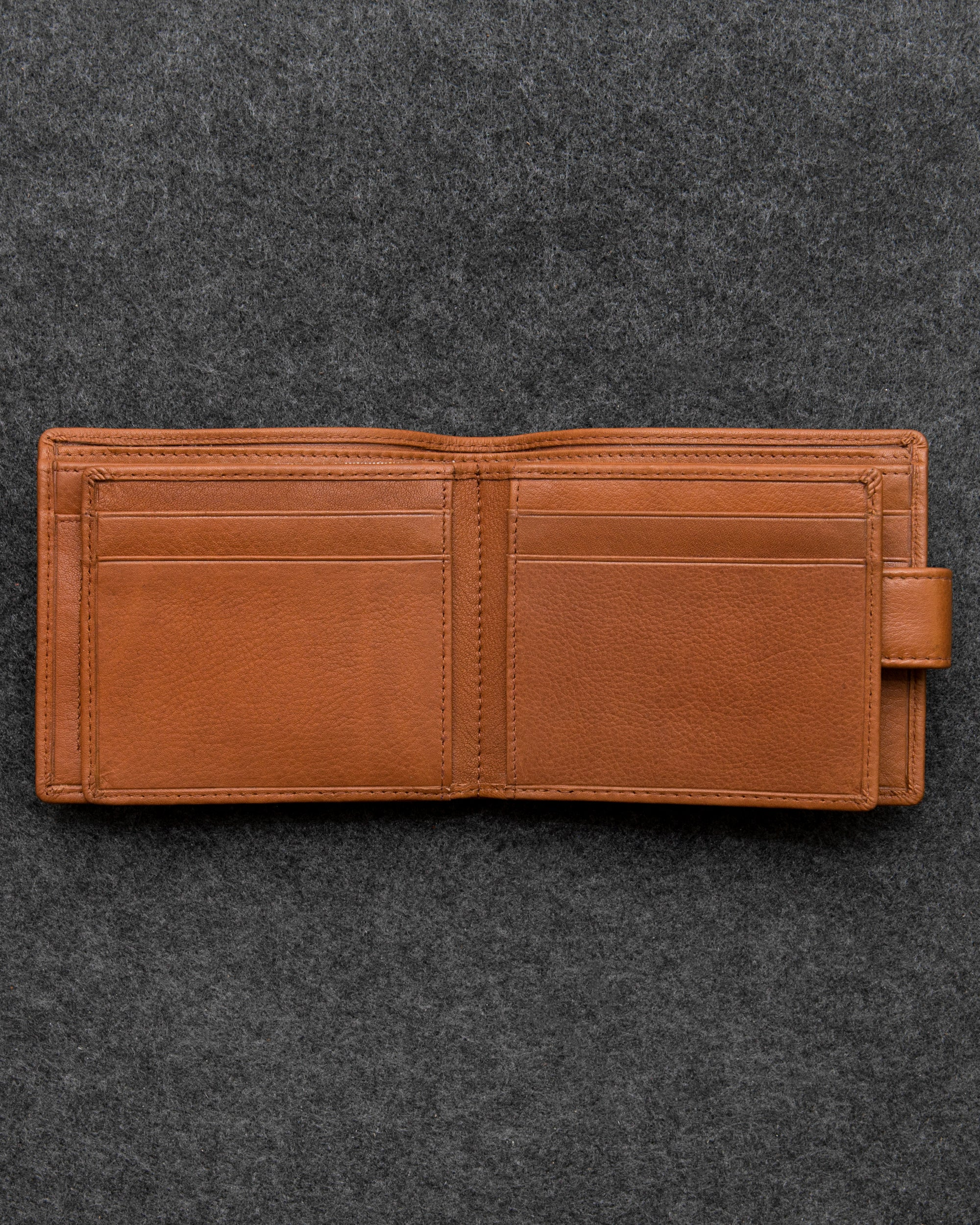 c40869d3459d Tan Newton Leather Men s Ultimate Card Wallet by Tumble and Hide