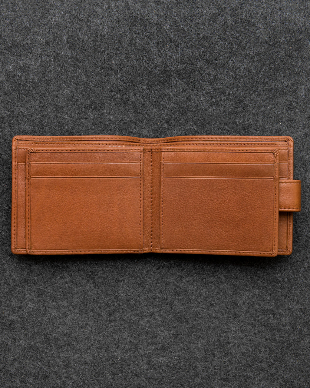 Tan Newton Leather Ultimate Card Wallet a