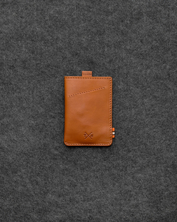 Tan Tudor Leather Adept Card Holder a