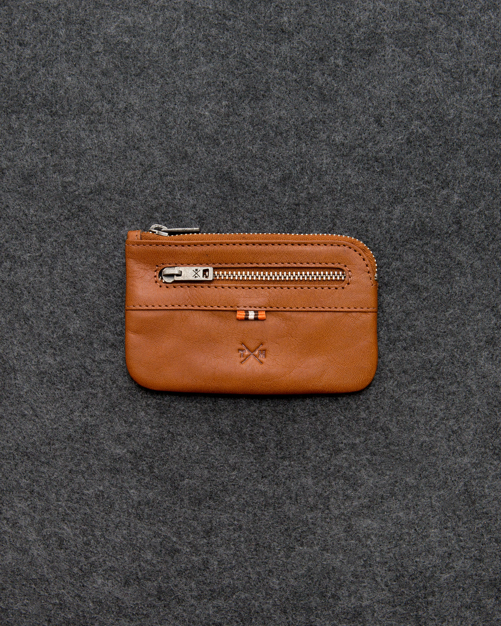 Tan Tudor Leather Classic Key Case a