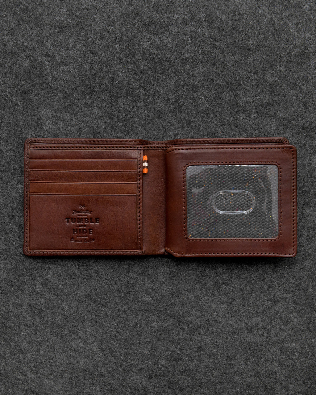 Brown Tudor Leather Legion Wallet a