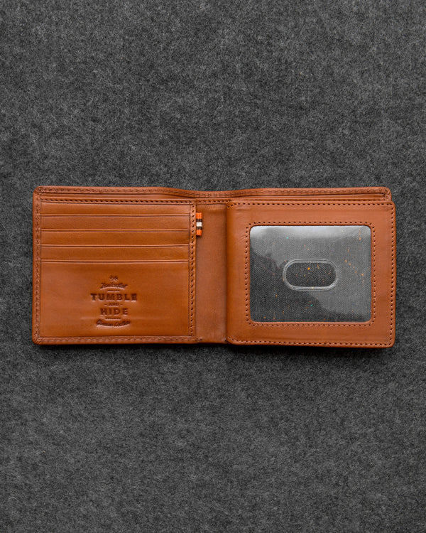 Tan Tudor Leather Legion Wallet a