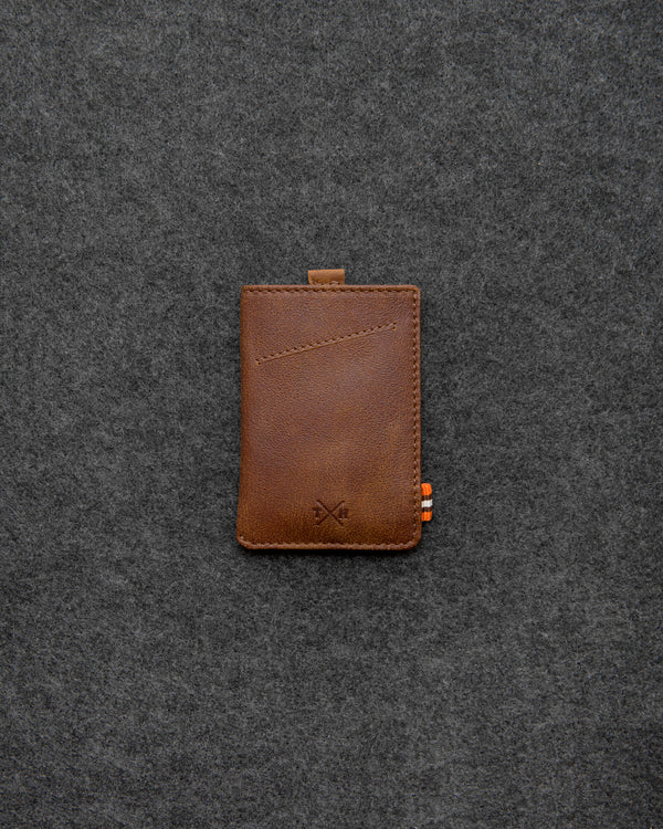 Brown Yukon Leather Adept Card Holder a