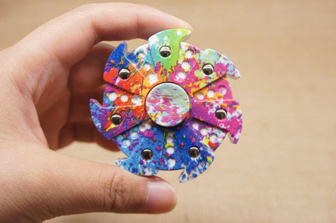 Cool Fidget Spinner With A Unique Design