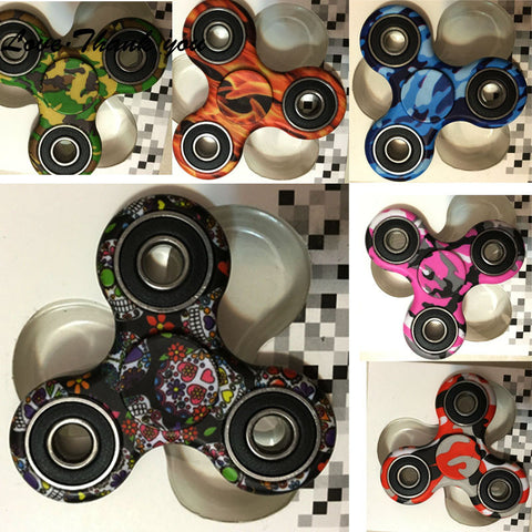 Original Fidget Spinner With Cool Design: spinning time more than 1 min