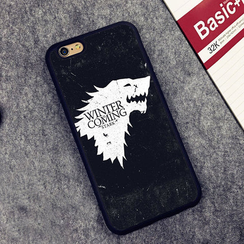 COOL Game of Throne IPhone Case featuring House Stark Sigil