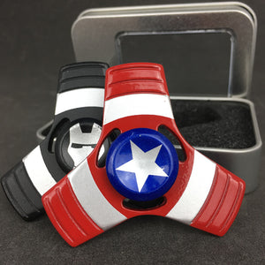 Marvel Heroes Fidget Spinner With Casing