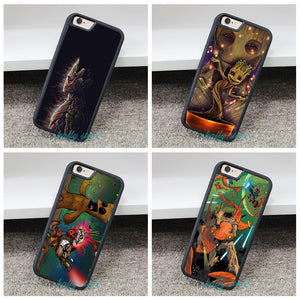 Guardian of the Galaxy ft. Groot Case for iphone 4 4S 5 5S 5C SE 6 6s 6 plus 6s plus 7 7pus