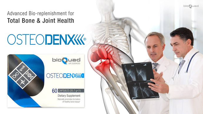 bioQuad OsteoDenx® - A Breakthrough Technology in Bone and Joint Health - Coming to the USA