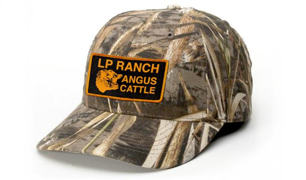 LP Ranch Camo (Max 5) Hat With Patch & Embroidered Brand