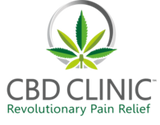 CBD Clinic, Revolutionary Pain Relief, Made with Charlotte's Web hemp extract oil
