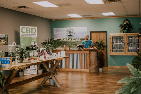 Mother Earth Natural Health, CBD store in Shelby Township, Michigan
