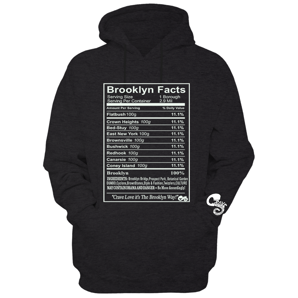 BROOKLYN FACTS LONG-SLEEVE/HOODIE/CREWNECK