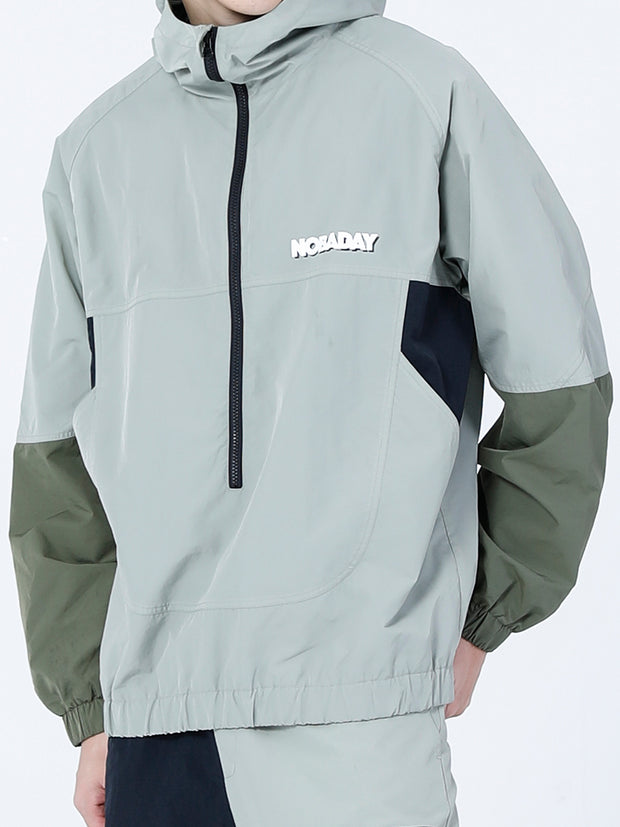 PRE-ORDER NBD QUEST ANORAK JACKET-LIGHT GREEN