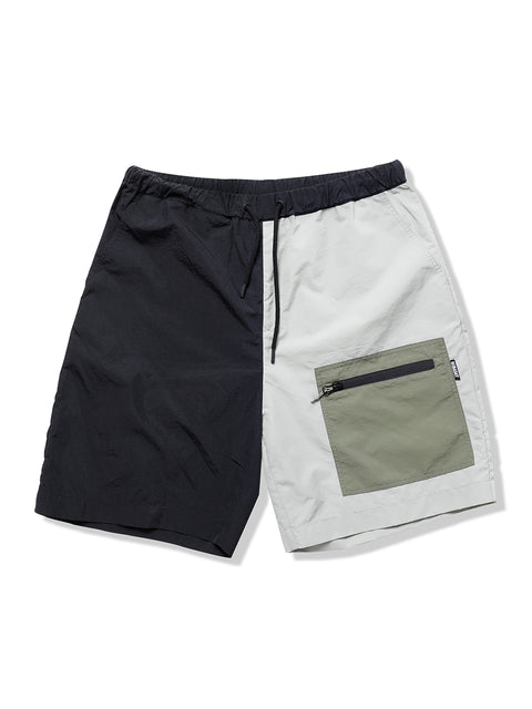 PRE-ORDER NBD UNIQUE SHORTS-BLACK&GREEN
