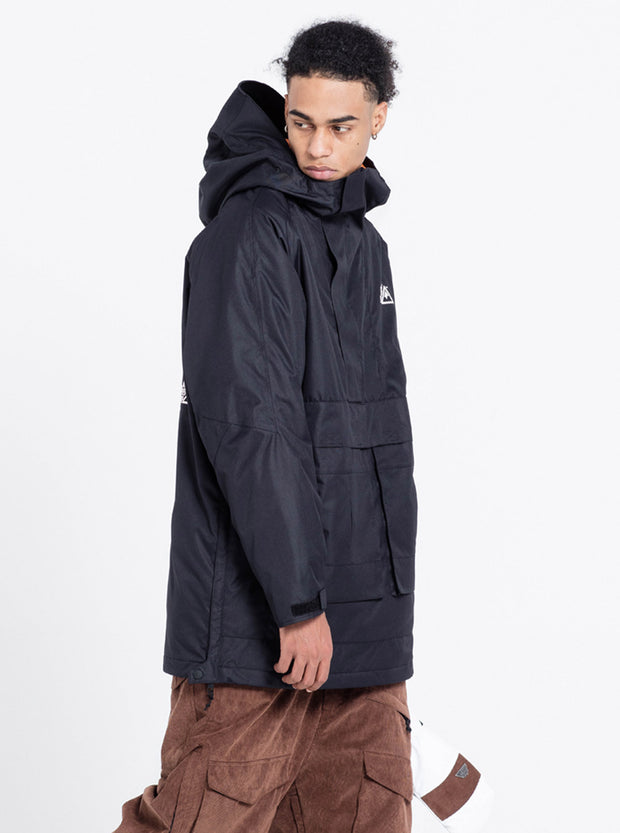 NBD INDEPENDENT ANORAK JACKET-BLACK