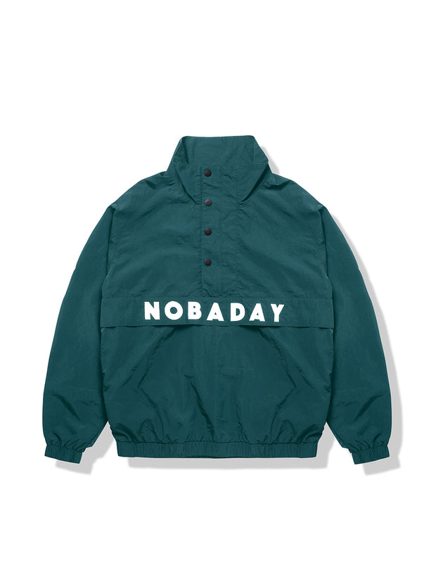 PRE-ORDER NBD BASE PULLOVER JACKET-GREEN