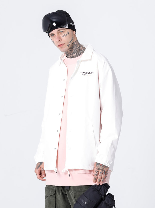 NBD COACH JACKET-WHITE