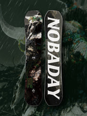 PRE-ORDER NOBADAY DOOM MONSTER SNOWBOARD