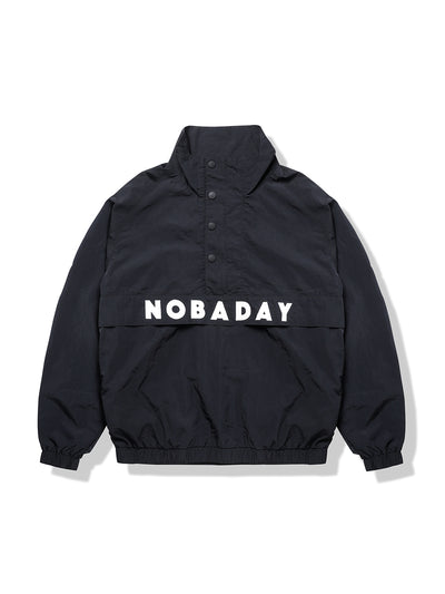 PRE-ORDER NBD BASE PULLOVER JACKET-BLACK