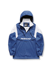 PRE-ORDER NBD LIGHT-WEIGHT ANORAK JACKET-BLUE