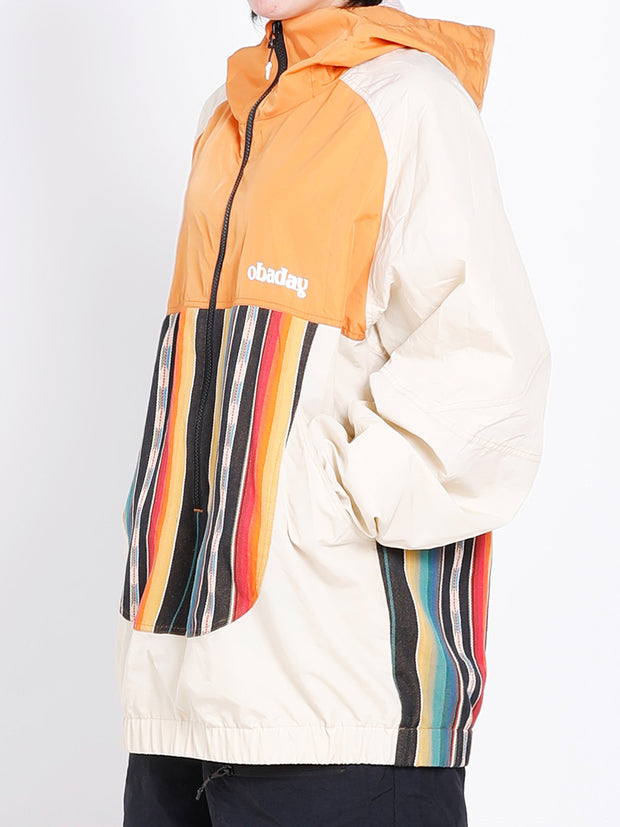 PRE-ORDER NBD QUEST ANORAK JACKET-ORANGE