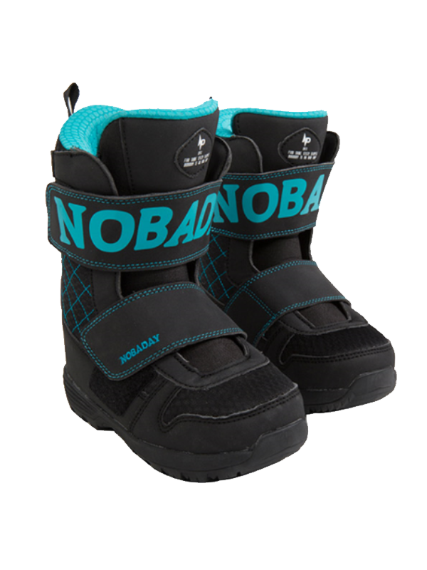 NOBADAY Kids' Fox Boots-Blue