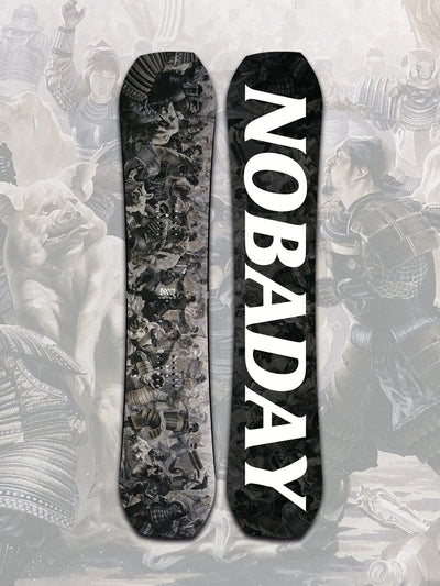 NOBADAY DOOM SNOWBOARD