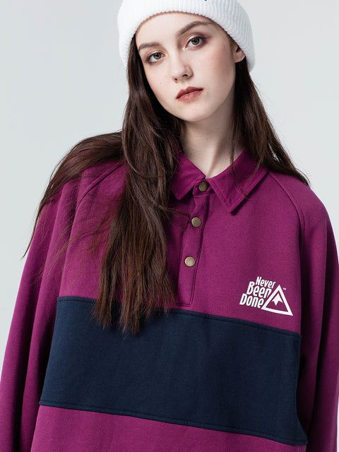 WOMEN'S NBD POLO SWEATER-ULTIMATE