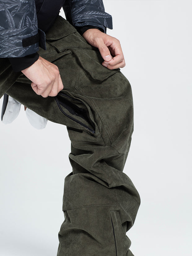NBD MEN'S CARGO CORDUROY PANTS