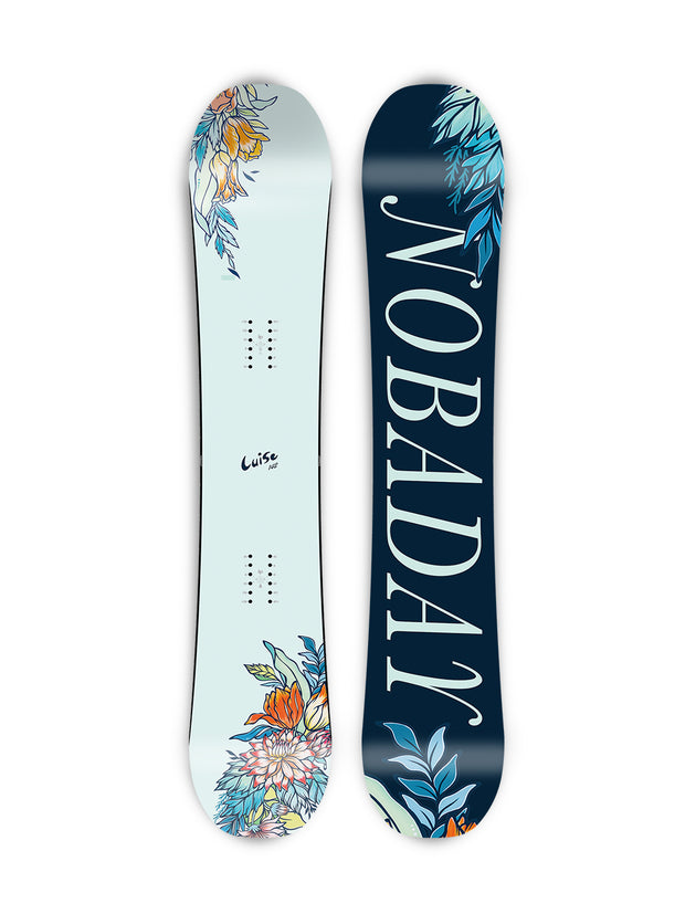 NOBADAY FLOWER SNOWBOARD
