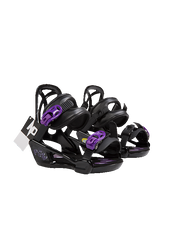 NOBADAY Kids' Paw Bindings-Purple