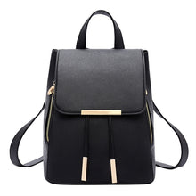 Leather Women Girls Ladies Backpack Travel Bag