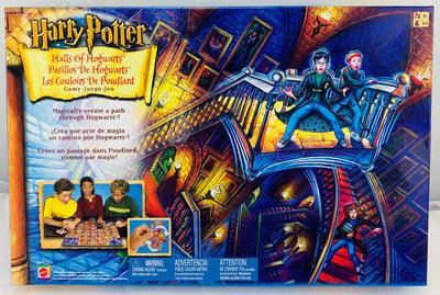 Hall of Hogwarts Harry Potter Game - 2002 - Mattel - Great Condition