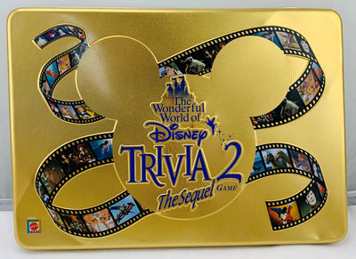 The Wonderful World of Disney Trivia 2: The Sequel Game - 2000 - Mattel - Great Condition