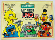 Sesame Street My First Uno Game - 1989 - Mattel - Great Condition