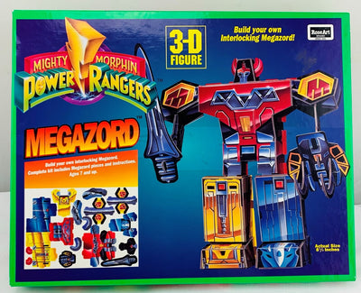 Power Rangers Megazord 3D Puzzle - 1994 - Roseart - Great Condition