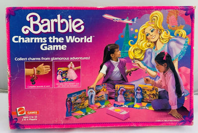Barbie Charms of the World Game - 1985 - Mattel - Great Condition