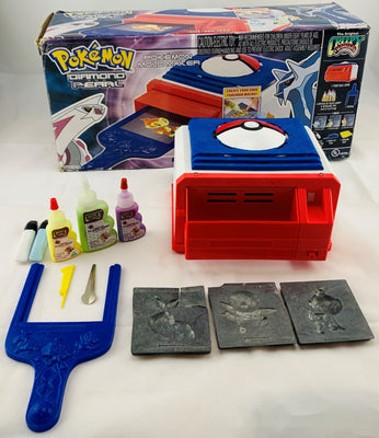 Creepy Crawlers Pokemon Molding Oven Kit Goop Working Good Condition
