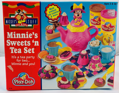 Play Doh Minnie Mouse Sweets N Tea Set - 1996 - Hasbro - Great Condition