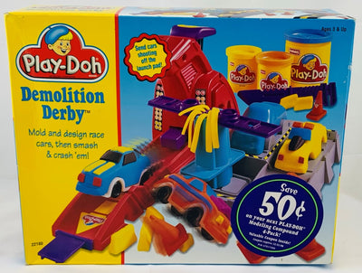 Play Doh Demolition Derby - 1997 - Hasbro - Great Condition