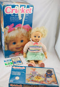 Cricket Doll and Game by Playmates Working - 1984 - Playmates - Great Condition