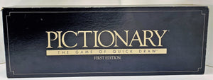 Pictionary Game 1st Edition - 1985 - Very Good Condition