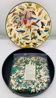 Song Birds Circle Puzzle - 1965 - Springbok - Great Condition